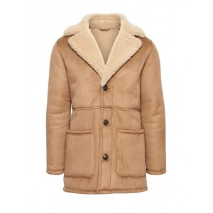 JAPAN ONLINE EXCLUSIVE Faux Shearling Coat