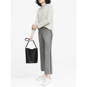 JAPAN ONLINE EXCLUSIVE Logan Trouser-Fit Cropped Side-Stripe Pant