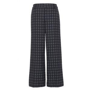 JAPAN ONLINE EXCLUSIVE Blake Wide Leg-Fit Cropped Gingham Pant