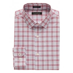 Grant Slim-Fit Non-Iron Tartan Plaid Shirt