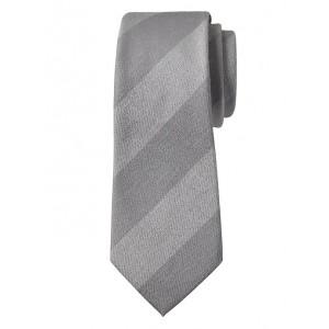 Chambray Stripe Nanotex® Tie