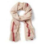 Wool-Cashmere Blanket Scarf