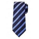 Herringbone Stripe Silk Nanotex® Tie