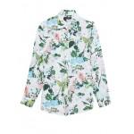 Dillon Classic-Fit Botanical Print Shirt