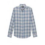 Slim-Fit Double-Weave Shirt
