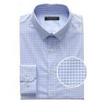 Slim-Fit Tech-Stretch Cotton Gingham Shirt