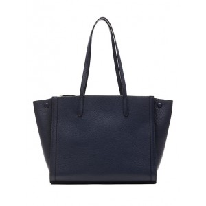 Italian Leather Large Tailored Tote Bag