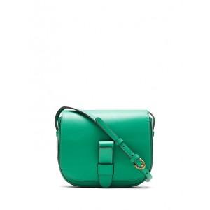 Italian Leather Saddle Bag