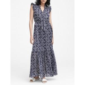 Petite Floral Maxi Dress