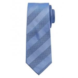 Textured Stripe Silk Nanotex® Tie