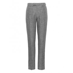 Athletic Tapered Linen Suit Pant