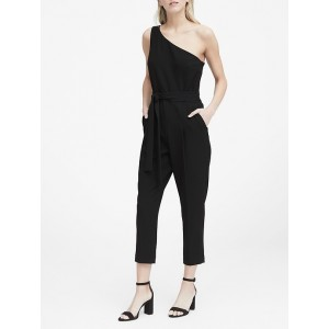 Petite One-Shoulder Jumpsuit