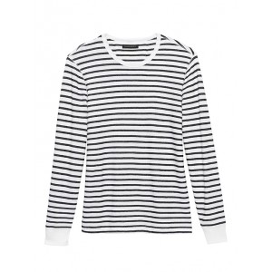 French Terry Stripe T-Shirt