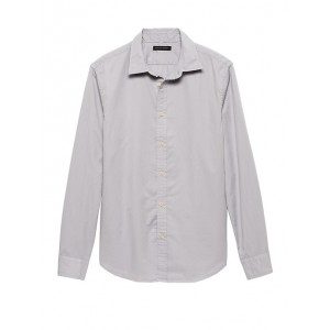 Standard-Fit Cotton Twill Shirt