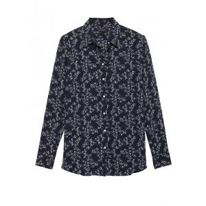 Petite Dillon Classic-Fit Floral Shirt