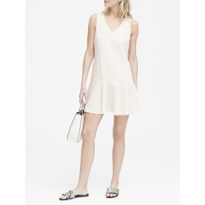 Petite Drop-Waist Shift Dress