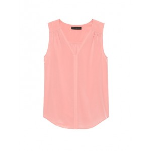 Washable Silk V-Neck Top