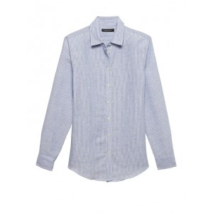 Petite Dillon Classic-Fit Linen-Cotton Shirt
