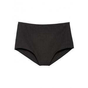 Eberjey | Retro Rib Isla High-Waisted Bikini Bottom