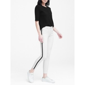 Petite Mid-Rise Skinny Cropped Jean