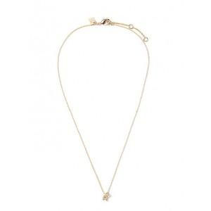 Mini R Pendant Necklace