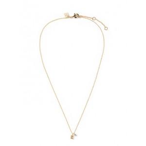 Mini E Pendant Necklace