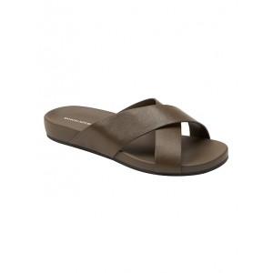 Crossover Slide Sandal