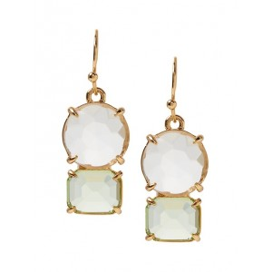 Brilliant Gemstone Drop Earrings