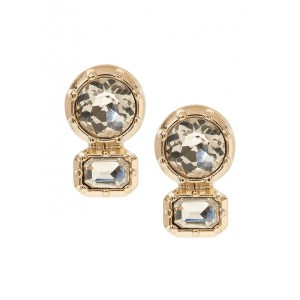 Brilliant Gemstone Stud Earrings