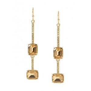 Brilliant Gemstone Pave Earrings