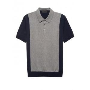 Cotton Cashmere Sweater Polo