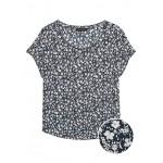 Floral Picot-Trim Top