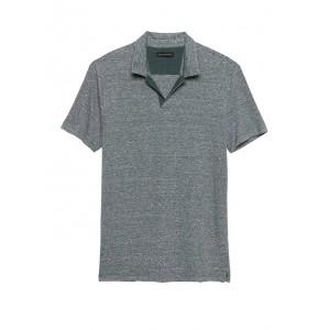 Stretch-Linen Polo