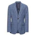Slim Italian Wool-Cotton Blazer