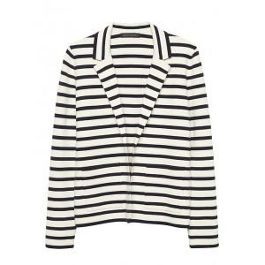 Petite Stripe Sweater Blazer