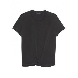 Sandwash Modal Knot-Hem T-Shirt