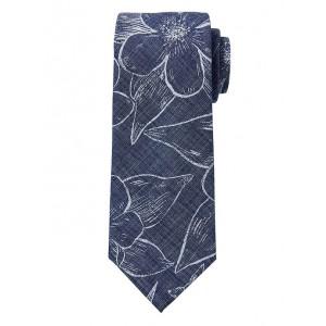 Tropical Floral Chambray Nanotex® Tie