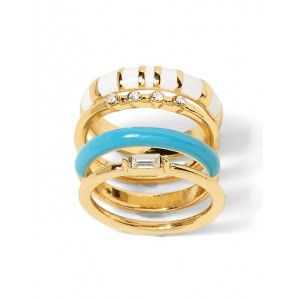 Enamel Ring Stack