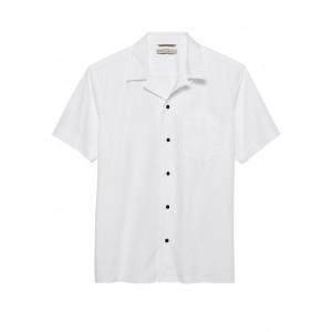 Heritage Cotton Textured Camp Shirt