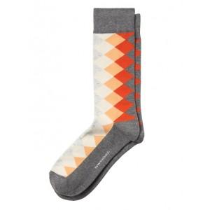 Argyle Gradient Sock