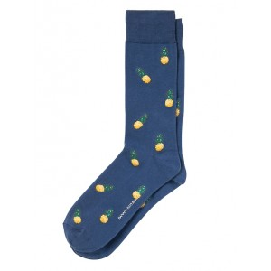 Tossed Pineapple Sock