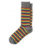 Pride 2019 Stripe Sock