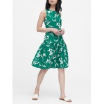 JAPAN EXCLUSIVE Floral Drop-Waist Dress