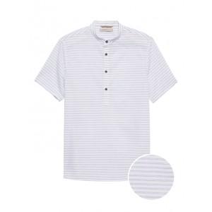 Heritage Slim-Fit Banded-Collar Shirt