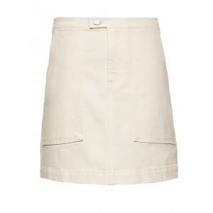 Denim Utility Mini Skirt