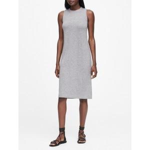Petite Luxespun Twist-Back Dress