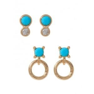 Micro Fine Stud Earrings Set