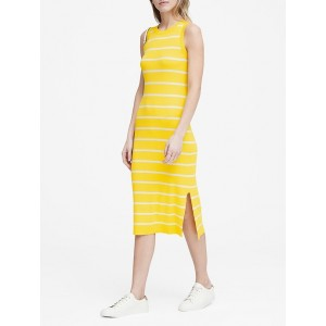 Petite Stripe Knit Dress