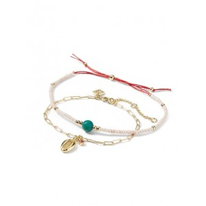 Summer Friday Shell Slider Bracelet