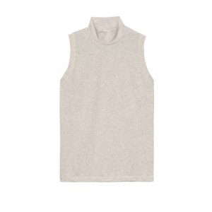 Ribbed Mock-Neck Tank